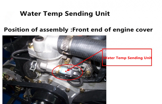 EPIC GM Series GM WULING Engine Water Temp Sending Unit 1050B