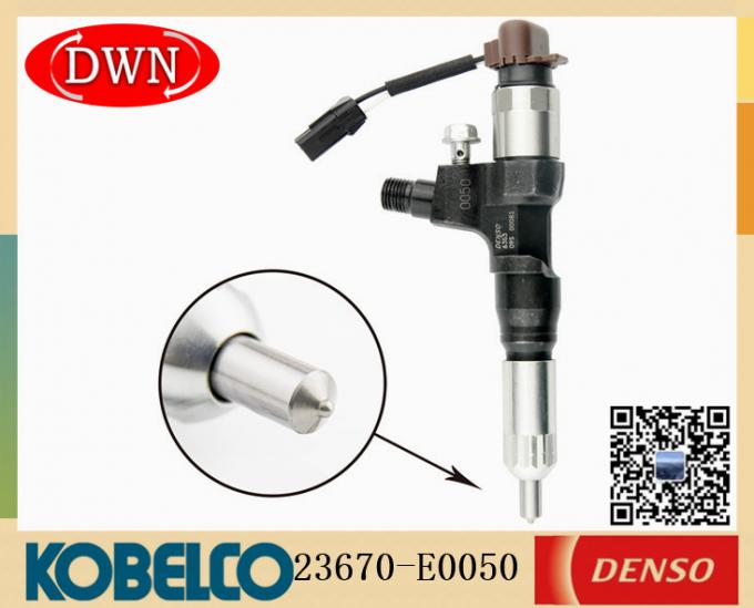 DENSO Series Fuel Injector 095000-6353 For KOBELCO J05E J06 Excavator Injector 23670-E0050