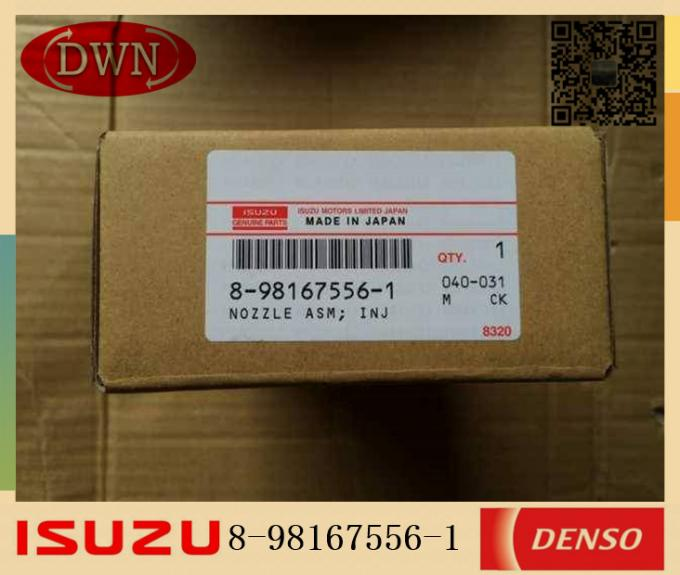 ISUZU 6UZ1T Injector Nozzle Japan DENSO Parts 8-98167556-1 8-98167556-0 095000-8981