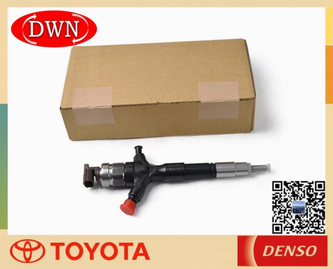 Toyota 1KD 2KD FTV Engine Fuel Injector 23670-30080 DENSO 095000-5890