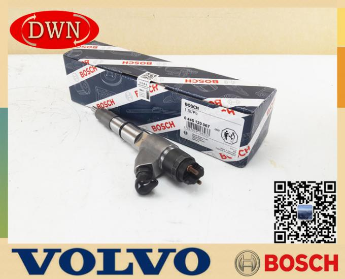 BOSCH Genuine Fuel Injector 0445120067 For VOLVO D6E Engine Injector 20798114
