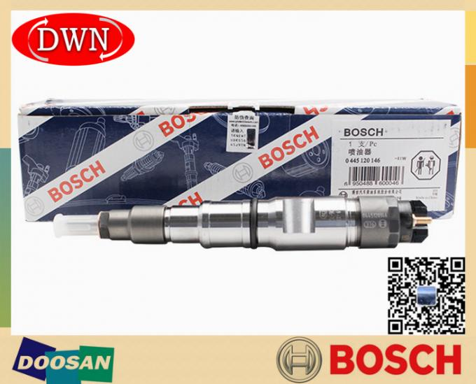 0445120146 0 445 120 146 BOSCH Genuine Fuel Injector For DOOSAN Excavator