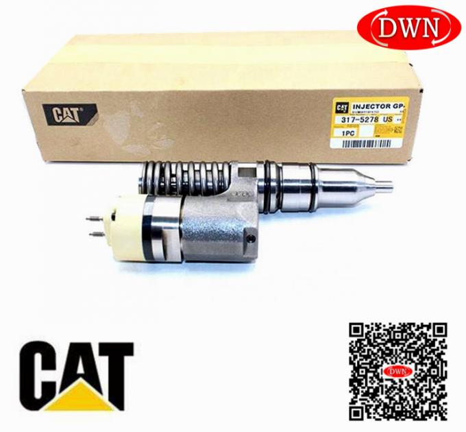 143H 160H 163H 317-5278 Caterpillar Fuel Injectors For CAT Engine 3176C 3175278 317-5278