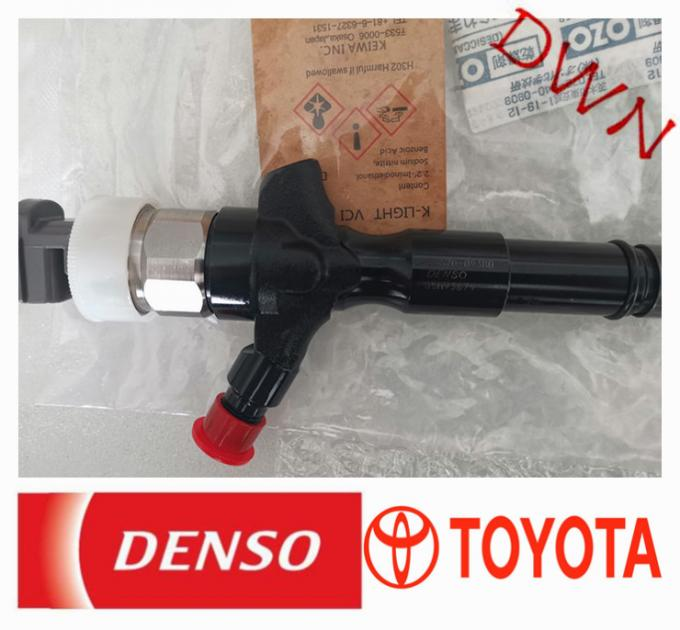 TOYOTA  2KD Engine denso diesel fuel injection common rail injector 23670-09380