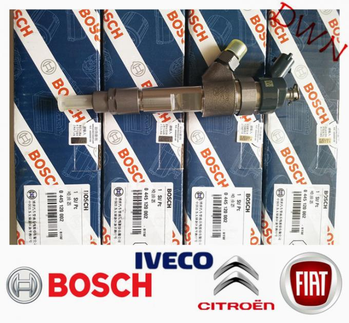 BOSCH common rail diesel fuel Engine Injector 0445120002 0445 120 002 for  FIAT Citroen IVECO