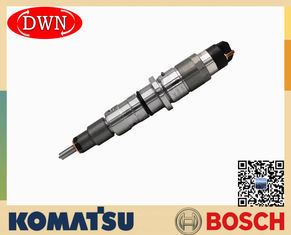 China 6745-12-3100 KOMAT'SU Excavator Engine Fuel Injector BOSCH 0445120236 factory