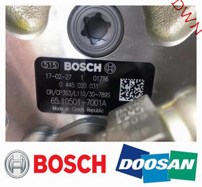 BOSCH Diesel engine parts fuel injection pump 0445020031  =  65.10501-7001A  for Korea Doosan Excavator