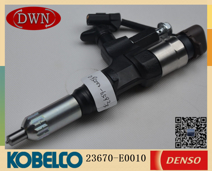 KOBELCO J08E SK350-8/SK220-8 Fuel Injector 23670-E0010 DENSO Series Injector 095000-6593 supplier