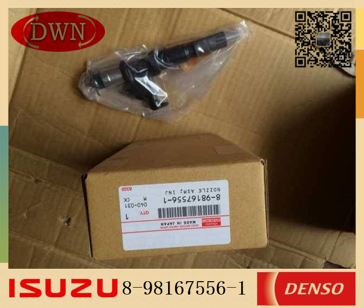 ISUZU 6UZ1T Injector Nozzle Japan DENSO Parts 8-98167556-1 8-98167556-0 095000-8981 supplier