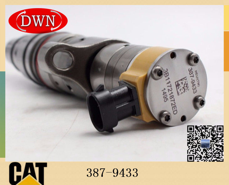 Caterpillar E330D E336D Excavator C9 Diesel Engine Fuel Injecgtor 387-9433 3879433 supplier