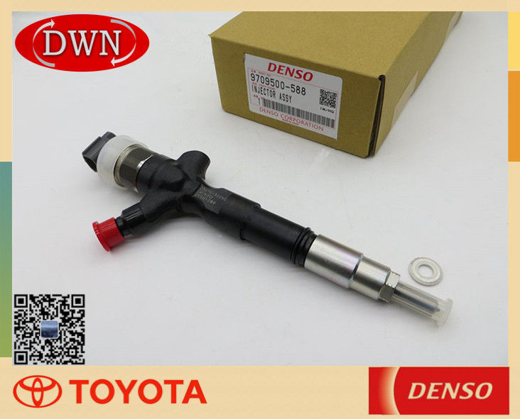 Toyota 1KD 2KD FTV Diesel Engine Fuel Injector 23670-30050 DENSO 9709500-588 supplier