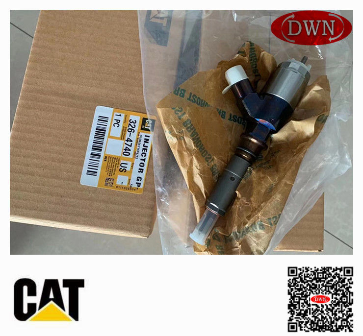 Genuine E320D 315D C6.4 Caterpillar Fuel Injectors 3264740 Diesel Engine Injector 326-4740 supplier