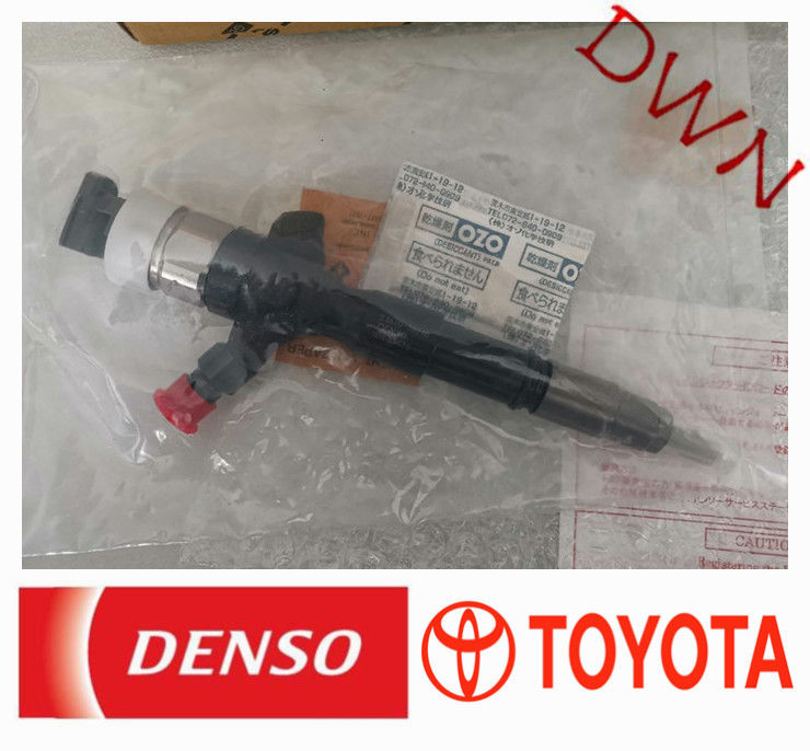 TOYOTA 2KD Engine denso diesel fuel injection common rail injector 23670-30240 supplier