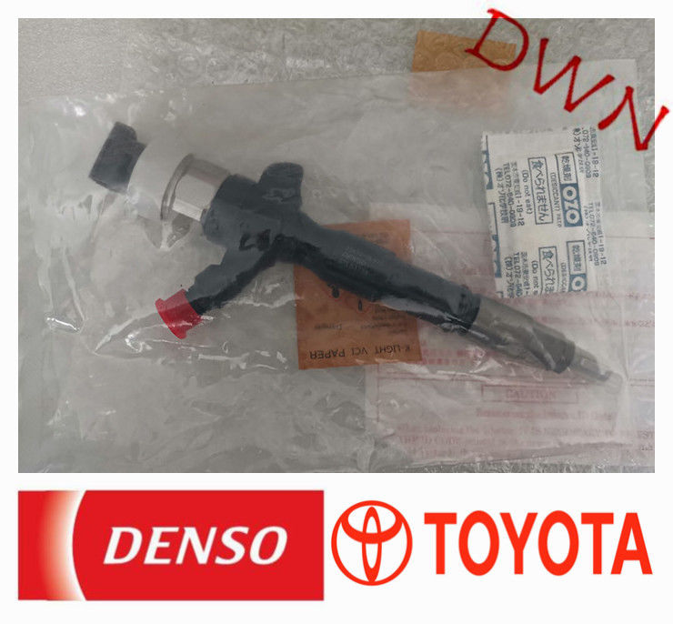 TOYOTA diesel fuel Engine denso diesel fuel injection common rail injector 23670-0L070 supplier